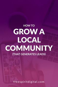 Having a local community that supports your business helps in a number of ways. Word of mouth is still a very strong selling method. Learn how to grow a local community that actually gives you sales leads. #marketing #business Business Help, Online Business, Sales And Marketing, Social Media Marketing, Practical Action, Relationship Marketing, Sales Techniques, Sales Strategy, Sales Tips