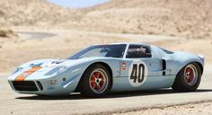 "The Ford 1968 is one of the most famous classic racing cars on the planet today. Steve McQueen chose it for his movie ""Le Mans"" making it even more iconic. It was so widely known yet so rare and so all the reason for the car to be sold for 11 million in"