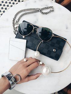 222a9876c1b1 Louis Vuitton Damier Graphite Accordeon Men s Wallet as a clutch Mode  Accessoires, Sieraden Accessoires,