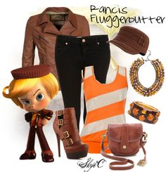 """Rancis Fluggerbutter Inspired Outfit"" by rubytyra ❤ liked on Polyvore"