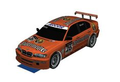 BMW 320i E46 Jagermeister Paper Car Free Vehicle Paper Model Download - http://www.papercraftsquare.com/bmw-320i-e46-jagermeister-paper-car-free-vehicle-paper-model-download.html#124, #BMW, #BMW320I, #Car, #PaperCar