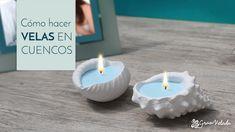 Descubre cómo hacer velas aromáticas en cuencos de escayola. Una alternativa más ecológica frente a los vasos de vidrio que te dará un resultado fabuloso.