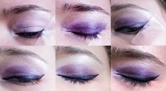 Beauty and the Geek Tip: Using a piece of tape on the outer corner of your eyes keeps everything slick and clean looking, especially your eyeliner.  Shadow used: Wet 'n Wild Floral Values, NYX Jumbo Eye Pencil in Milk, Eyeliner Relvon Liquid eyeliner  Beauty and the Geek: Kate Bishop