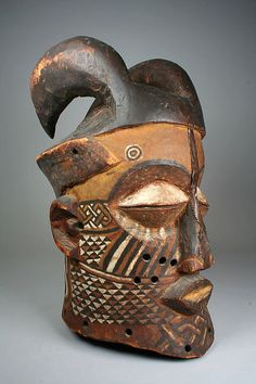 Helmet Mask (Nyachi) | Kuba peoples, Kete group | The Met