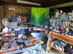 Jo Murray - Art: Studio chaos - situation normal