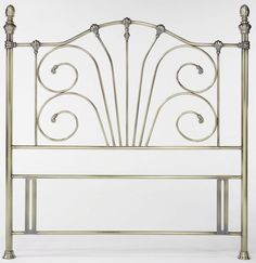 Bentley Designs Rebecca Headboard Double 135cm Part of Bentley Designs unique collection of mixed traditional and contemporary headboards. The Rebecca headboard has a curvaceous and traditional design and is available in either antique brass o http://www.comparestoreprices.co.uk/headboards/bentley-designs-rebecca-headboard-double-135cm.asp