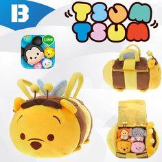 Honey Bee Pooh carry case Tsum Tsum.