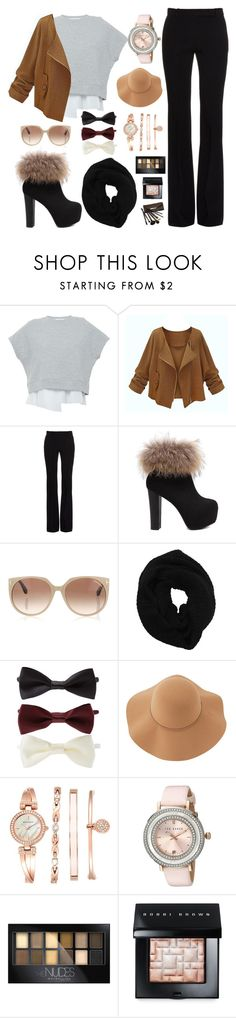 """""""Winter look book #15"""" by purplepop13 ❤ liked on Polyvore featuring 10 Crosby Derek Lam, Alexander McQueen, Tom Ford, Wyatt, Forever 21, Sans Souci, Anne Klein, Ted Baker, Maybelline and Bobbi Brown Cosmetics"""