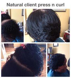 Natural hair designs by Taci.