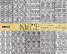 Digital pattern  ADD ANY BACKGROUND  Personal and by pickApixel, $4.00