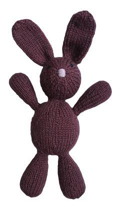 VirkotieAUBERGINE Bunny Virkotie AUBERGINE Quality 100% Wool Bunny HANDMADE IN AUSTRALIA @virkotie www.virkotie.com