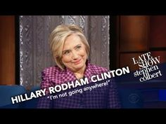 Hillary Rodham Clinton Experienced Putin's Sexism Firsthand | The winner of 2016's popular vote and 'What Happened' author Hillary Rodham Clinton tells Stephen about her strangest experiences with Russia's President during her time as Secretary of State.