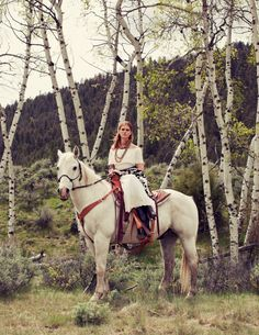 Love! This is part of a fantastic western-themed fashion story in Hemispheres Magazine!