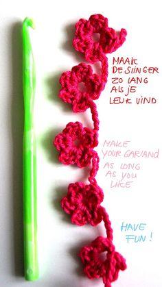 ingthings: Easy flower garland (variation)
