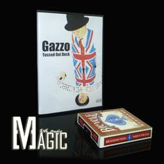 Gazzo Tossed Out Deck close-up street TV show bicycle card  magic tricks products wholesale free shipping   http://www.buymagictrick.com/products/gazzo-tossed-out-deck-close-up-street-tv-show-bicycle-card-magic-tricks-products-wholesale-free-shipping/  US $11.50  Buy Magic Tricks