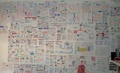 aimingfora:This was my bedroom wall whilst studying for last years exams, crazy to think I had the time to draw all of those diagrams (haha)