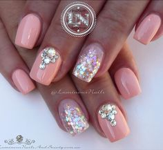 See this Instagram photo by @luminousnails • 499 likes