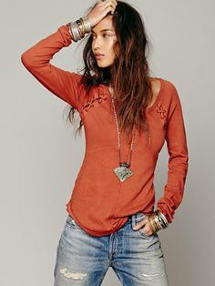 Free People We The Free Rufio Raglan, AED249.82
