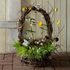 Woodland Coast Basket in EASTER Gifting Basket Basics at Terrain