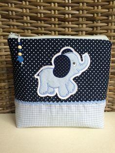 Waschtasche,Windeltasche *Elefant* von * Creative Happiness * auf DaWanda.com