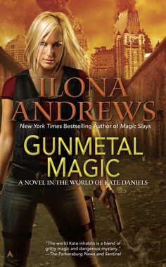 Book Chick City | Reviewing Urban Fantasy, Paranormal Romance & Horror | REVIEW: Gunmetal Magic by Ilona Andrews (click for review)