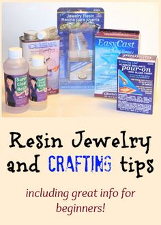 'Beginner questions about resin jewelry making...!' (via Resin Obsession)