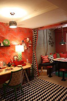 Jeannie Fraise of Lotus Bleu Design designed the basement -   2011 Decorator's Showcase
