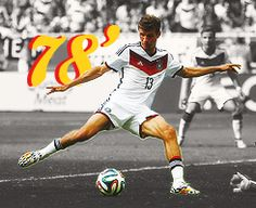 Thomas muller 78' Thomas Muller, Pitch, Superstar, Cool Pictures, Germany, Football, Running, Sports, Football Shirts