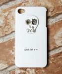 LOVE BY e.m. iPhone case