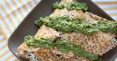 Dubliner Cheese, Sea Salt & Pesto Butter Recipe — Dishmaps