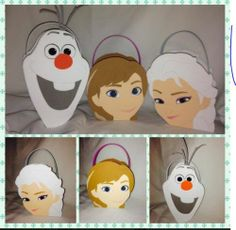 Movie Frozen Inspired Party Bags Anna Elsa Olaf | eBay