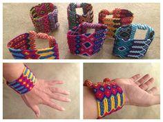 #Mayan modern friendship cuff w/magnetic clasp, from #Guatemala @puravidaart #puravida
