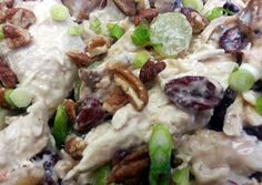 Apple-Pecan Chicken Salad Recipe -  Very Delicious. You must try this recipe!