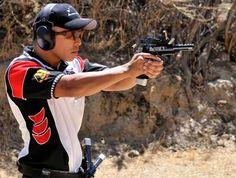 Team GLOCK's K.C. Eusebio Competes in First Match as Elite Shooting Team Member Skeet Shooting, Shooting Sports, Team Member, Competition, Tactical Gear, Poses, Female, Edc, Shots
