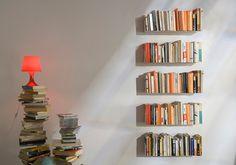 TEEbooks, the Almost Invisible Bookcaseb