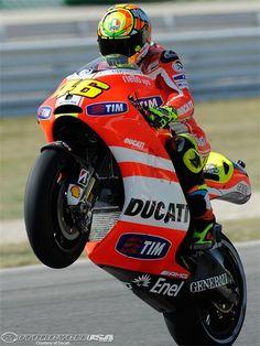 Valentino Rossi! my favorite MotoGP rider