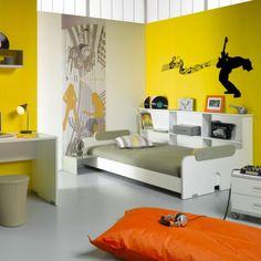 Chambre ado garçon : 11 Déco de chambres dans le coup | Kids rooms ...