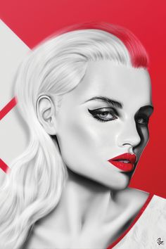 iCanvas Cherry (Red) Gallery Wrapped Canvas Art Print by Giulio Rossi Canvas Art Prints, Canvas Wall Art, Crazy Wallpaper, Art Beat, Italian Artist, Pics Art, Portrait Art, Art Girl, Art Drawings