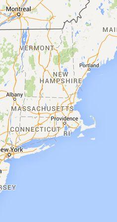 Massachusetts Blackstone River Bikeway Map (Worcester, MA to RI ...