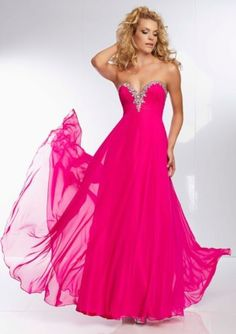 L-K-380-MORI-LEE-PAPARAZZI-PROM-DRESS-GOWN-PINK-FUCHSIA-STYLE-95072-SZ-4