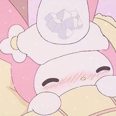 Melody Hello Kitty, My Melody, Hello Kitty Characters, Sanrio Characters, Vintage Cartoon, Cute Cartoon, Pink Aesthetic, Aesthetic Anime, Cute Photos