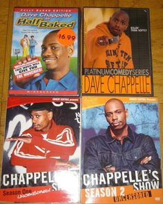 Dave Chappelle in Half Baked Brand New Platinum Comedy Season 1 & 2 Box Set DVD  Dave Chappelle in Half Baked A trio of bong-loving buddies hatch a pot-laced plan to spring the fourth member of their smokers' circle out of the Big House, where he languishes after accidentally killing a diabetic police horse. The cinematic equivalent of aerosol cheese, featuring a bevy of buzz-friendly cameos