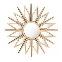 Bring radiance to any space with our striking starburst mirror, crafted of wood and steel in a warm gold finish. Alternating rays help reflect additional light to create a gorgeous, luminous look in your entryway, hallway or living room. Vintage Wall Art, Vintage Walls, Gold Starburst Mirror, Unique Picture Frames, How To Clean Mirrors, Gold Wall Art, Round Mirrors, Large Mirrors, Wall Mirrors