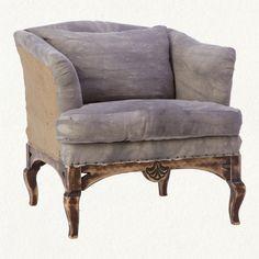 Tea Dyed Linen Chair from Terrain $1998