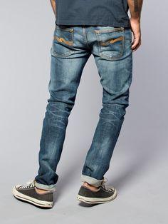 Grim Tim Organic Teal Blue - Nudie Jeans Co Online Shop