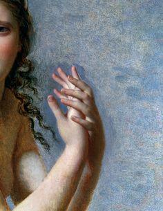 Psyche Abandonnee (detail) | Jacques-Louis David | 1795