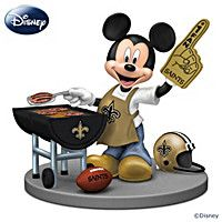 Disney New Orleans Saints Fired Up For A Win Figurine