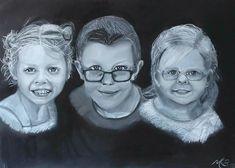 Pastel portretten op A3 formaat Crown, Canvas, Fashion, Tela, Moda, Corona, La Mode, Fasion, Canvases