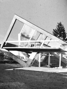 """""""Drusch house"""" / Versailles / Claude Parent y  Paul Virilo / 1962-63."""
