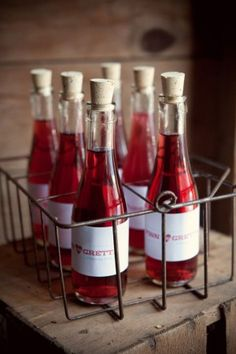 red drinks / Emily Steffen Photography